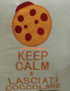 keep calm cuscino