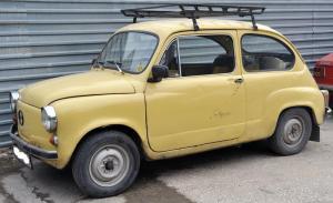 Fiat 600 gialla